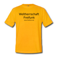 T-Shirt ~ Comfort T ~ Weltherrschaft Freifunk