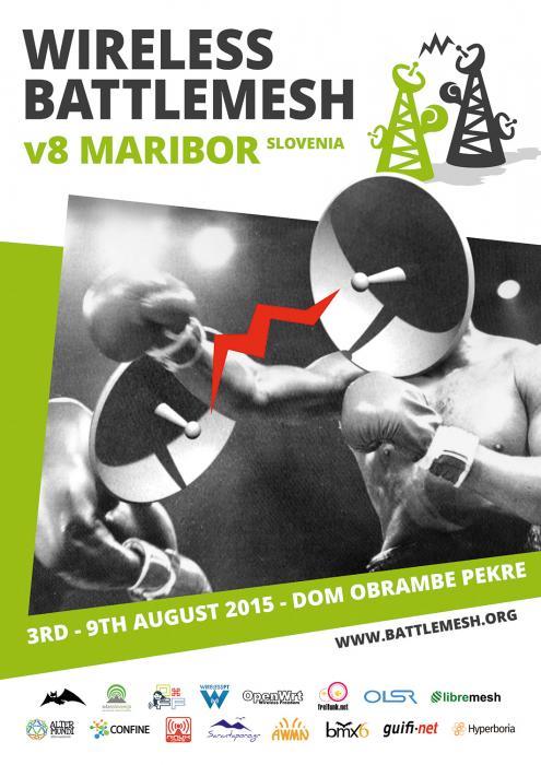 Battlemesh v8 poster